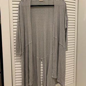 H.I.P. Striped Cardigan Sweater